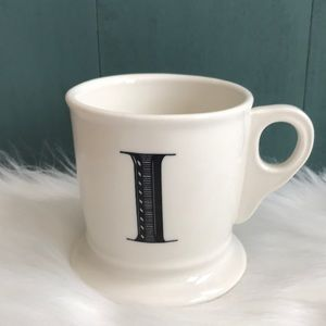 Anthropologie Kitchen - Anthropologie initial I mug